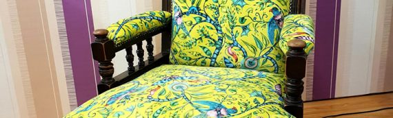 Chair re-cushion and re-upholster